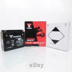 Yuasa Battery Moto Harley-davidson 1450 Softail 2000-2007 Ytx20l Flstc Series-b