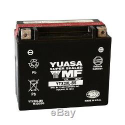 Yuasa Battery Original Ytx20l-bs Harley Flst Heritage Softail 1340 1991
