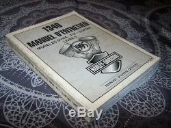 09 Manuel officiel atelier Entretien Harley davidson 1340 DYNA FLT SOFTAIL 1995