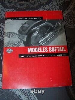 0E Manuel d'atelier Entretien Revue technique Harley davidson SOFTAIL 2002