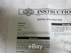 155. HARLEY DAVIDSON Softail Fat Boy Siège Coussin de SEAT 51493-09