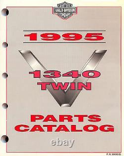 1995 Harley-Davidson 1340 Modèles Parts Catalogue Manuel -flt-flhtc-softail-dyna
