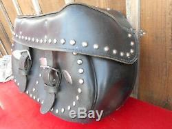 2 Veritable Sacoches D'origine Harley Davidson Softail Heritage Et Autres