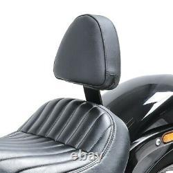 2x Pilote Sissybar pour Harley Davidson Softail rue Bob 18-20 rider dossier Craf
