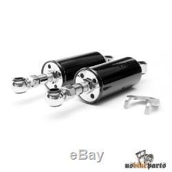 Amortisseurs pour Harley-Davidson Softail 89-99 noir réglable custom