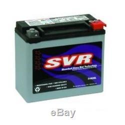Batterie Au Gel Svr Harley Davidson Softail & Dyna 1991-1996