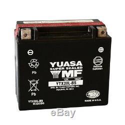 Batterie Original Yuasa YTX20L-BS Harley FLST Heritage Softail 1340 1991