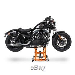 Béquille ciseaux OXL pour Harley Davidson Road King/ Classic, Softail Breakout