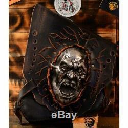 Bobber Chopper Sacoche de selle Harley Davidson Softail jusqu'en ´17 Zombie