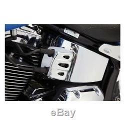 Cache Bobine Chrome Arlen Ness Harley Davidson Dyna 06-15, Softail 00-15