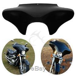 Carénage extérieur noir vif devant Batwing pour Harley Davidson Softail Dyna