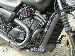 Commandes Avancé Noirs Harley Davidson Street Xg 750 Forward Controls