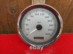 Compteur En Km/h Pour Harley Davidson Softail / Dyna A Partir De 2009