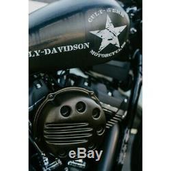 Couvercle de filtre à air Cult Werk Slotted Softail M8 107er Harley Davidson
