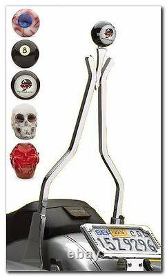 Cycle Vision Sissy BAR Multitude 18 Chrome, pour Harley Davidson Softail, Dyna