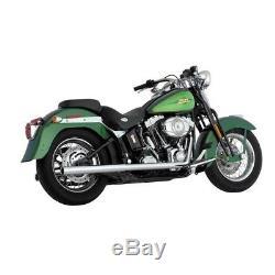 Echappement Vance & Hines True Dual Harley Davidson Softail 1987-2011