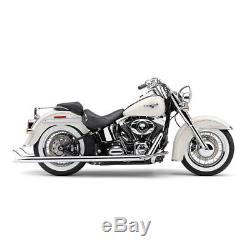 Echappements Cobra Bad Hombre Dual Fishtail Harley Davidson Softail 2012-2017
