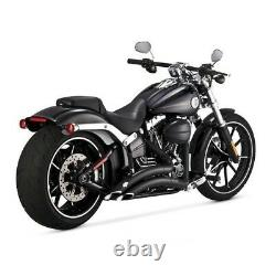 Echappements Vance & Hine Big Radius 2-2 Harley Softail Break Out 2013-2017