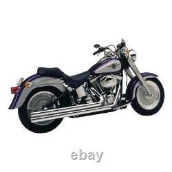 Echappements Vance & Hines Bigshots Longs Harley Davidson Softail 1987-2011