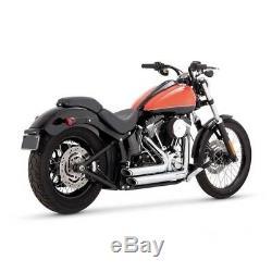 Echappements Vance & Hines Shortshots Chrome Harley Davidson Softail 2012-2017