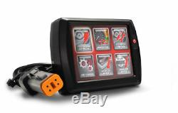 Énergie Vision PV-1B Noir pour Harley Noir Softail Ressorts (01-06) Flash Do