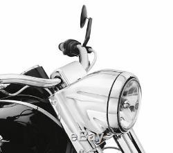 Feux Typ Road King Nacelle Chrome Harley Davidson Softail Heritage Fatboy Etc