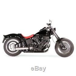 GPR HD. 7. CON Système D'Échappement Conical Harley Davidson FXSTB Softail 2 IN 1