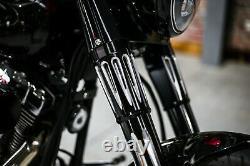 Gabelcover Forkslider Softail Touring Harley Davidson Fork Couverture Gabelhülse