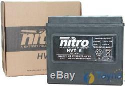 HARLEY DAVIDSON 1340 FXSTC 1340 Softail Custom (86-90) Batterie YB16-B