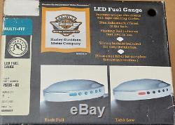 HARLEY ORIGINAL LED réservoir essence afficher CARBURANT CALIBRE SOFTAIL DYNA