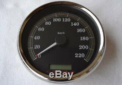 Harley Davidson Compteur Softail Touring Dyna 2004 à 2006 gros diametre 117mm