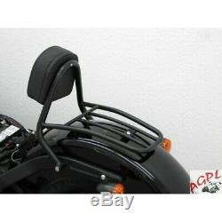 Harley Davidson Softail Blackline-11/13- Softail Slim-12/17 -sissy Bar Conducteu