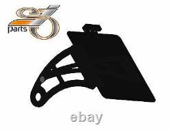 Harley Davidson Softail Dyna Plaque Latéralement + Éclairage