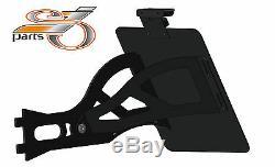 Harley Davidson Softail Ressorts Support Plaque D'Immatriculation Latérale +