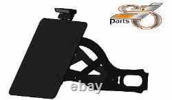 Harley Davidson Softail Standard Plaque Latéralement + Compl. Éclairage