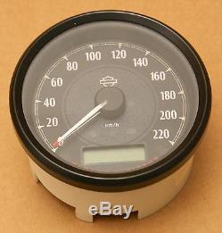 Harley Original Can-Bus Compte-Tours Speedometer km/H Sportster Dyna Softail