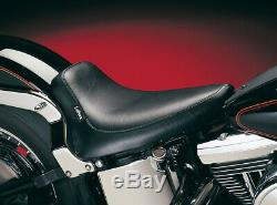 Harley Softail Solo Siège le Pera Silhouette Noir Lisse 00-07