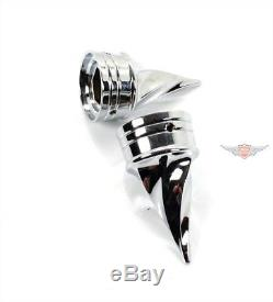 Harley softail touring dyna sportster CHROME Twisted ESSIEUX mère couverture