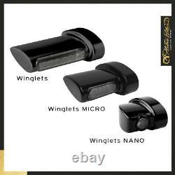 Heinzbikes Nano Série Winglets 3in1 Clignotant LED Harley-Davidson Softail Slim