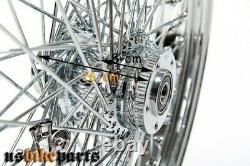 Jante 3,5 x 18 Avant Dual 80 Rayons 1 à Partir De 2000 Roue à Harley Davidson