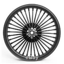 Jante Big Spoke avant 3.5x16 pour Harley Heritage Softail Special noir