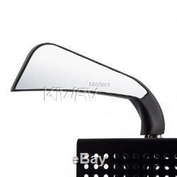 KiWAV rétroviseur AXE noir LED indicator pour Harley-Davidson softail deluxe