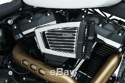 Kuryakyn Hypercharger Es pour Harley Softail 2018 Modèles Chrome & Noir 9377