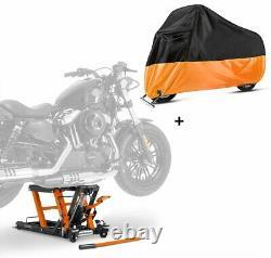 Lève Moto hydraulique LO + housse XXL pour Harley Davidson Softail Street Bob