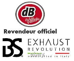 Ligne Complete Bs Exhaust Racing 2/1 Inox Satine Harley-davidson Softail