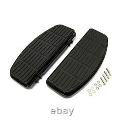 Marchepieds Larges Repose-Pied Amortis pour Harley Davidson 86-17 Fl Softail