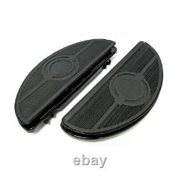 Marchepieds Ovales Repose-Pied Amortis pour Harley Davidson 86-17 Fl Softail