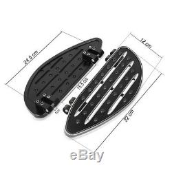 Marchepieds pour Harley Davidson Touring und Softail 1986-2020 Repose Pieds Cale