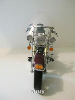 Moto Bike Harley Davidson Heritage Softail Classic Franklin Mint B11sy90 1/10