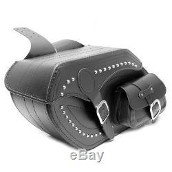 Moto Exclusif Cuir Noir Sacoches Sacoche Harley Davidson Softail